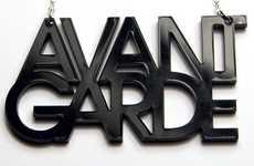 Alphabetic Acrylic Accessories