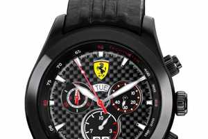 The Ferrari Paddock Limited Edition Chronograph Lets Time Pass in Luxury