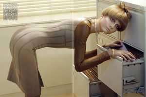 Vogue Italia Bow Tie Hairdos are Very Prim & Proper