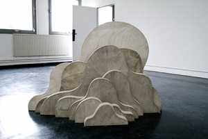 Lukas Richarz Constructs Abstract Cement Art