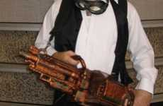 Revamped Toy Weaponry - The Steampunk Nerf Vulcan is Battery-Powered Vintage Fun