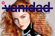 Lily Cole Looks Gorgeously Put Together in Vanidad Magazine November 2010