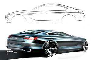 The BMW 6 Series Coupe Concept Car is to Start Production in 2011