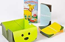 Foldable Pet Food Dishes - These Pocketable 'Slurpabowls' Can be Brought on Walks