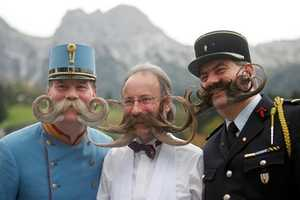 The European Moustache Championships are Hairrific