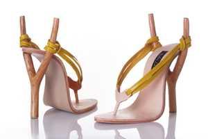 These Kobi Levi Slingshot Shoes are Strikingly Fierce