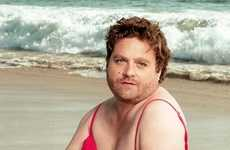 The Zach Galifianakis Swimsuit Calendar is Awkwardly Hilarious