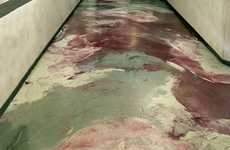 Custom Painted Floors