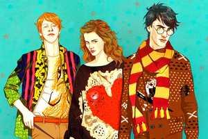 'Harry Potter' Fan Art by Marika Art Modernizes the Magical Cast
