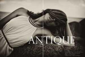 The 'Antique' Photoshoot by Svetla Vesnaya is Beautifully Engaging