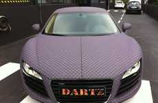 Checkered Luxury Cars - The Dartz Chess R8 is a Patterned Power Vehicle