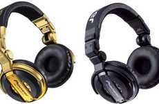 Glamorously Gilded Headsets