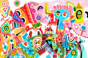 'Colour Doodles' by Simon Wild is a Kaleidoscope of Color