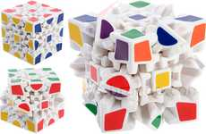 Morphing IQ Puzzles - The Gear Wheel IQ Cube Gives the Rubik's Cube a Run for Its Money