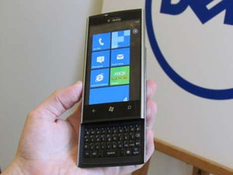 Computing Smartphones - The Dell Venue Pro is the Latest Addition to the Windows Phone 7