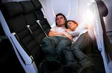 Snuggle-Friendly Airline Seats - Air New Zealand 'Cuddle Class' in the Boeing 777-300 is for Couples