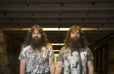 Identical Twin Portraiture - 'Sniwt Twins' by Kristof Kralik Juxtaposes Mirror-Image Siblings