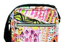 Catherine Manuell Design Suitcases Use Art From Australian Aboriginal Artists