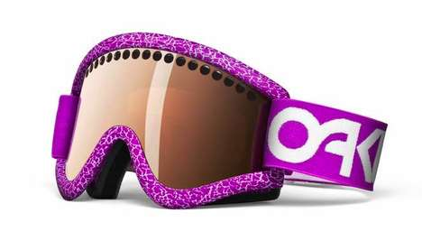 Purple Powder Peepers - The 2Nine75 Signature Series Pro Frame Oakley Goggles