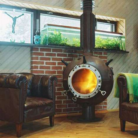 Antique Weapon Fireplaces - Mati Karmin Turns Old Estonian Mines into Furniture