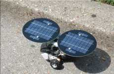 dSolar Systems Panels Power Your LEGO NXT Robot