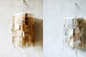The Sewing Pattern Lamp by Umbu is Truly Unique
