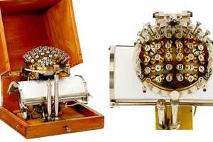 The Writing Ball is a Peculiar Vintage Typewriter