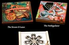 "Mechanical Greeting Cards - Mechanicards from Brad Litwin Say ""I Love You"" With Mini-Machines"