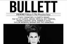 Cindy Crawford Covers BULLETT Magazines Premier Issue