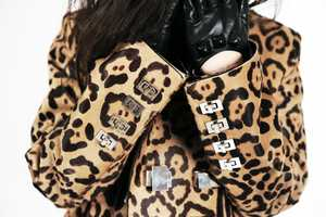 The Handcrafted Luxirare Leopard Jacket is Fierce for Fall