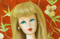 Darling Doll Art - The Retro-Inspired Works of Holly Farrell Featuring Barbie and Ken