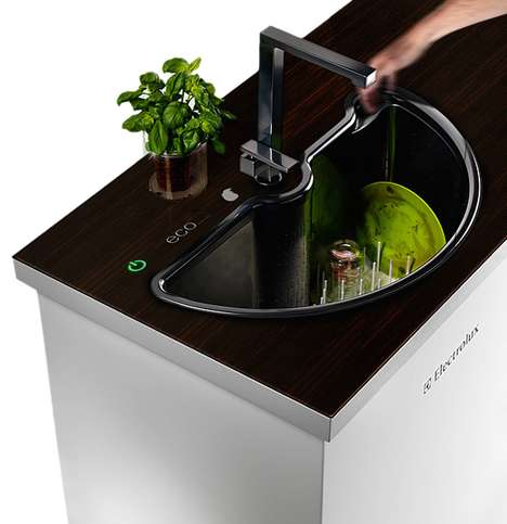 Eco-Automatic Sink by AHHA Project Doubles as a Dishwasher