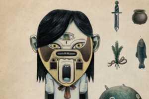 The Work of Raymond Lemstra Pulls Aboriginal Inspiration
