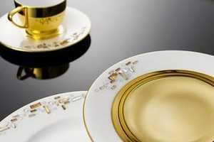 'Prouna' Makes Dishwasher-Safe Crystal Bone China