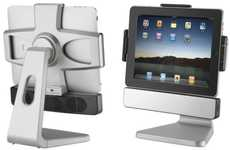 Desktop Tablet Docks - The 'Paddock 10' Rotates to Provide the Best View of Your iPad