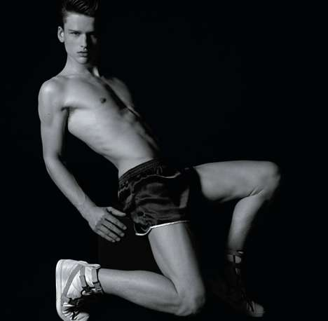 Fierce Fitness Photography - Milan Vukmirovic Gets Physical for L'Officiel Hommes Issue 20