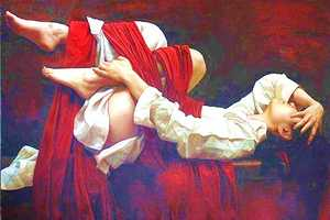 Paintings by Liu Yuanshou are Ethnically Sensual and Skillfully Done