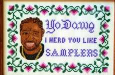 Rapper-Ready Embroidery - The Etsy 'Steotch' Retailer Creates Pop Culture Crochets