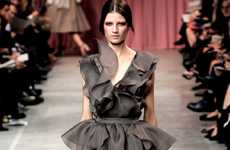 Ruffled Runway Frocks