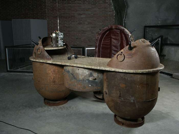 Explosive Steampunked Furniture