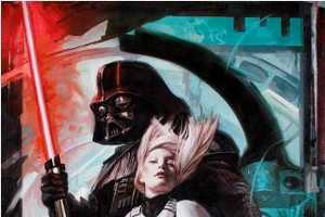 The Original Artwork for the New Book Star Wars Art: Visions