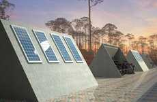 Solar Cycle Storage - The Nazli Yucel 'Bike Park' is a Monument to Mother Earth