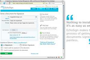 Personalize Your Digital Documents with EchoSign Electronic Signatures
