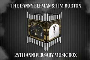 The Elfman & Burton Music Box is a Trove of Twisted Tunes
