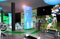 Extreme Interactive Shopping - The Garry Cohn 'Lifestyle Sports' Store Concept is Off the Wall