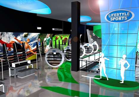 sports retail upside down