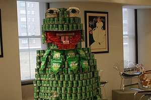 Annual International 'Canstruction' Food Drive Returns