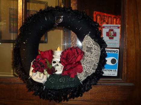Monster Wreaths - Spooky Halloween Decor to Hang on Your Front Door
