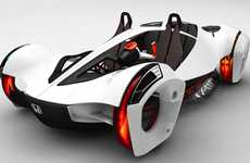 Roller Coaster Cars - The Honda Air is a Lightweight High Performance Four Wheeler