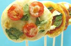 Saucy Thin Crust Suckers - These DIY Pizza Pops are Finger-Lickin' Good